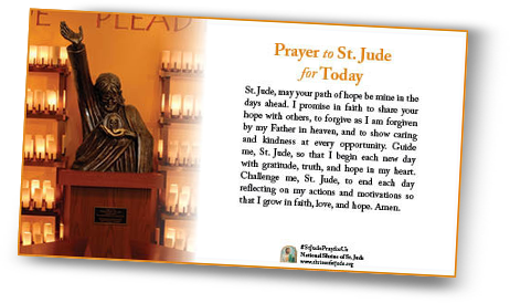 St jude loved ones by sending a special prayer ecard the card includes the prayer of your choice and you can even send a personalized message thecheapjerseys Images
